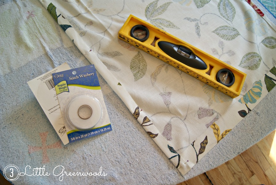 Fabulous No-Sew Curtains from a Tablecloth by 3 Little Greenwoods