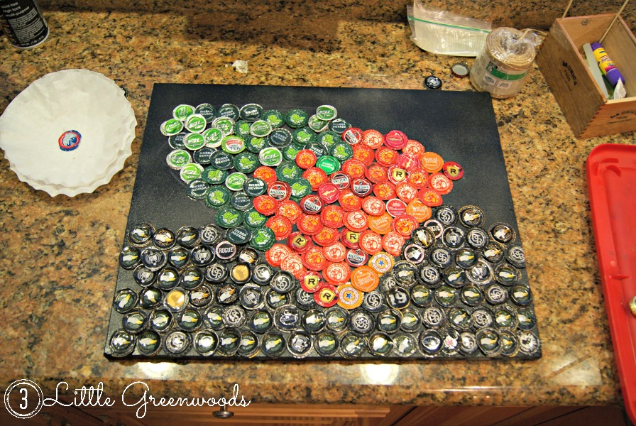 projects with bottle caps