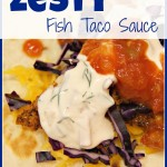 Zesty Fish Taco Sauce