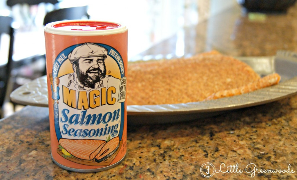 Salmon Magic Seasoning - so yummy