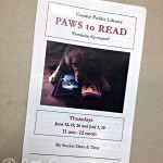 Summer Fun: Reading with the Therapy Dogs