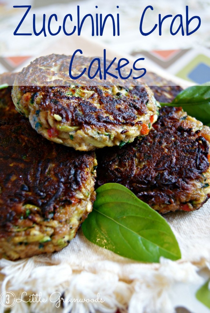 Zucchini Crab Cake Recipe - Ashley's School of Southern Cooking https://www.3littlegreenwoods.com