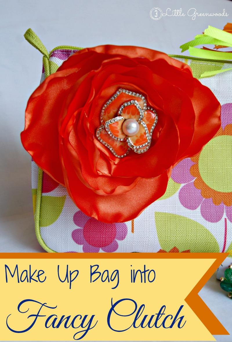 DIY Clutch - Updated MakeUp Bag