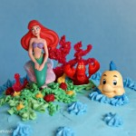 How to Make a Little Mermaid Birthday Cake