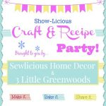 Show-Licious Craft & Recipe Party #10