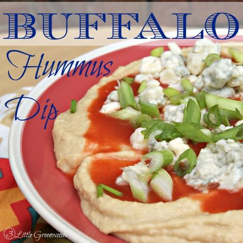 Buffalo Blue Hummus Dip by 3 Little Greenwoods