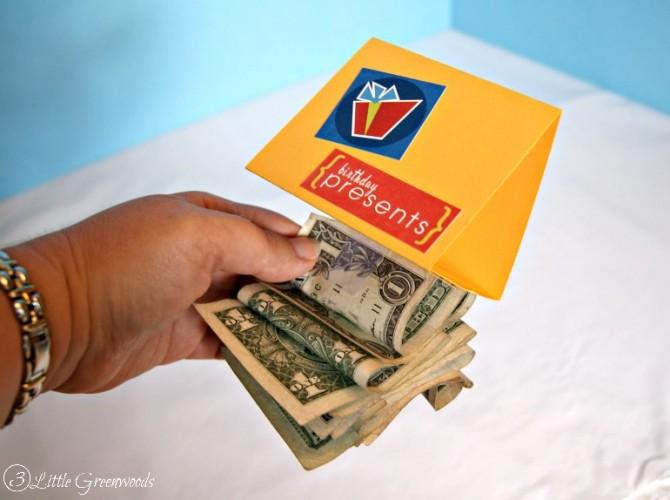 Diy Birthday Gift Fun Money Box