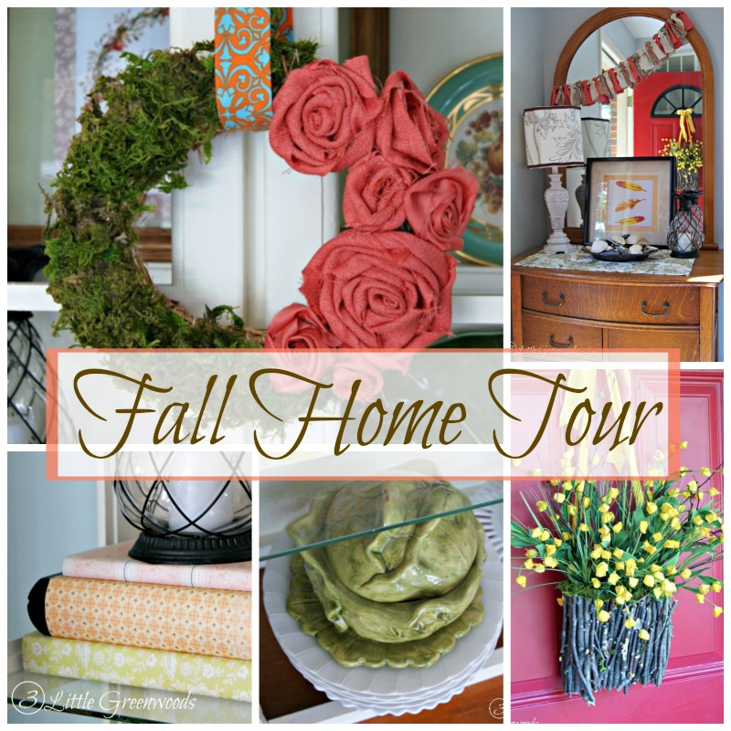 Fall Home Tour with 3 Little Greenwoods