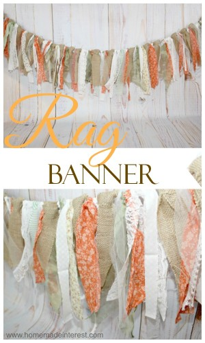 Rag Banner by Home Made Interest