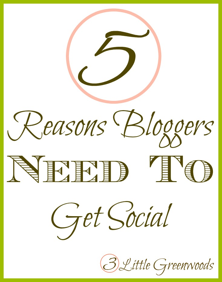 5 reasons bloggers get social