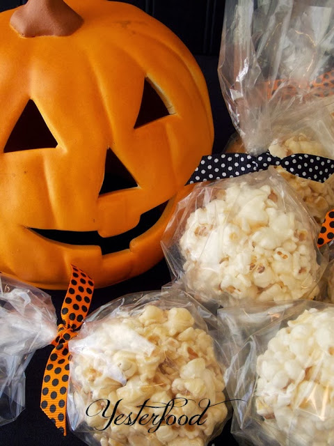 Popcorn Balls by Yesterfood