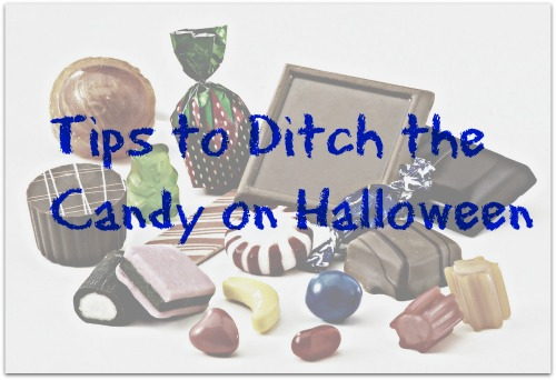 Tips to Ditch the Candy on Halloween