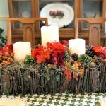 Branch Basket Centerpiece {The Hankful House Guest Post}