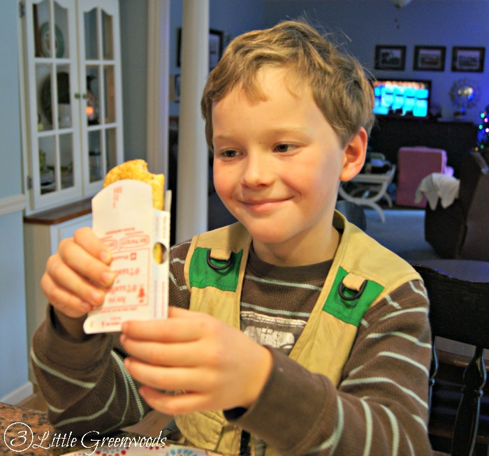 Thanksgiving Help with Hot Pockets