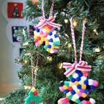 Melted Bead Ornaments {Christmas Activity for Kids}