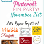 Our Favorite Things Pinterest Party {November}