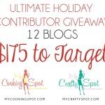 Ultimate Holiday Giveaway ~ $175 to Target!