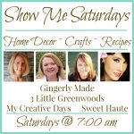 Show Me Saturday Linky Party #20