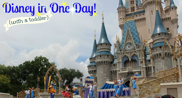Disney in One Day with a Toddler