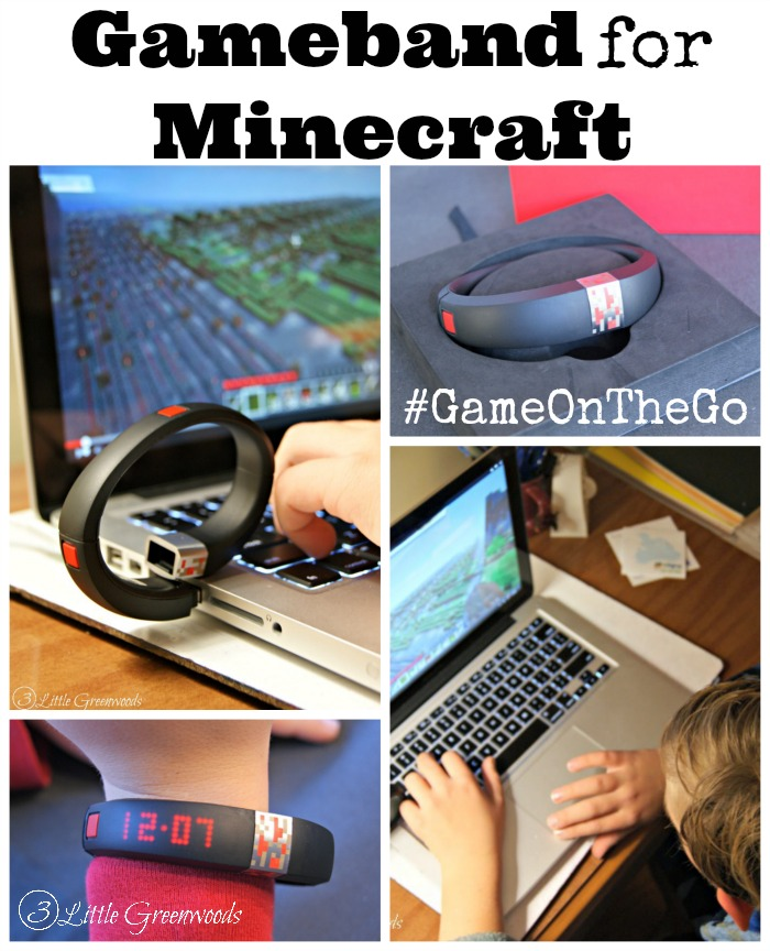 Gameband for Minecraft: The Perfect Gift for the Minecraft Lover in Your Family #GameOnThe Go