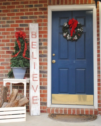 Giant Believe Sign by Gingerly Made