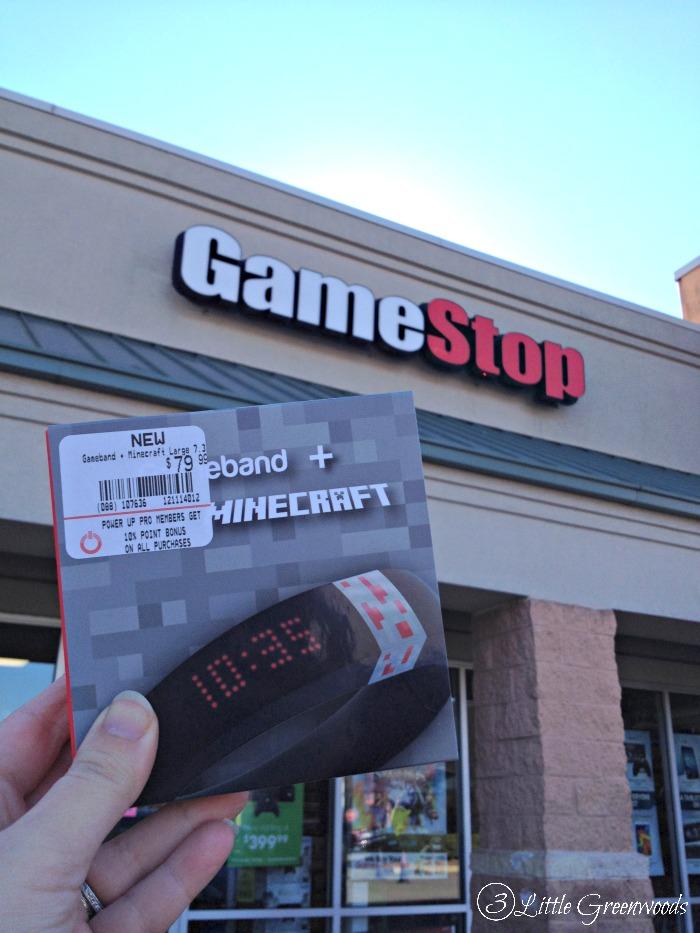 Hot Gift: Gameband for Minecraft #GameOnThe Go https://www.3littlegreenwoods.com