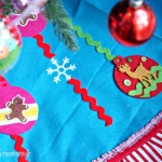 DIY No Sew Christmas Tree Skirt