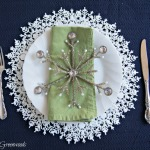 DIY Snowflake Plate Charger (An Easy Christmas Tablescape Idea)