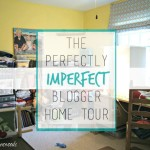 The Perfectly Imperfect Blogger Home Tour: My Disaster of a Craft Room https://www.3littlegreenwoods.com
