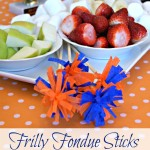 Frilly DIY Fondue Sticks