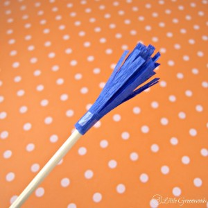 DIY Frilly Fondue Sticks ~ Perfect for Your Next Party!