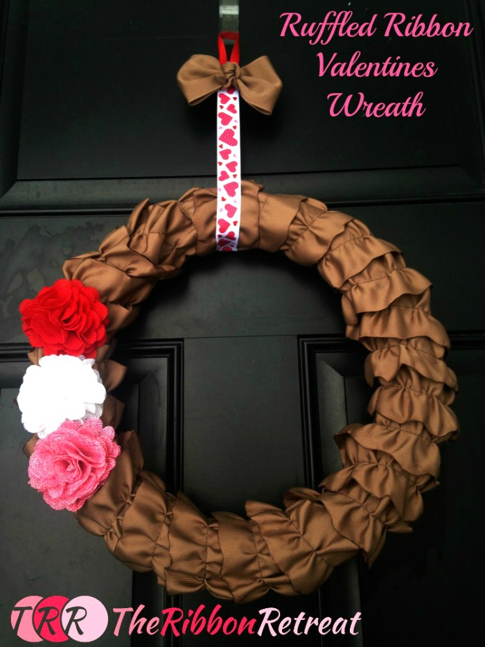 Ruffled-Ribbon-Wreath