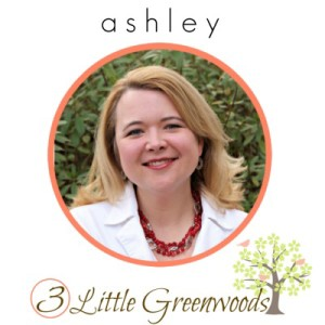 Designer Trapped in a Lawyer's Body Contributor ~ Ashley from 3 Little Greenwoods