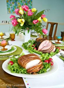 Practical Tips for Planning a Traditional Easter Dinner by 3 Little Greenwoods #HoneyBakedEaster #EasterDinner #PartyPlanning