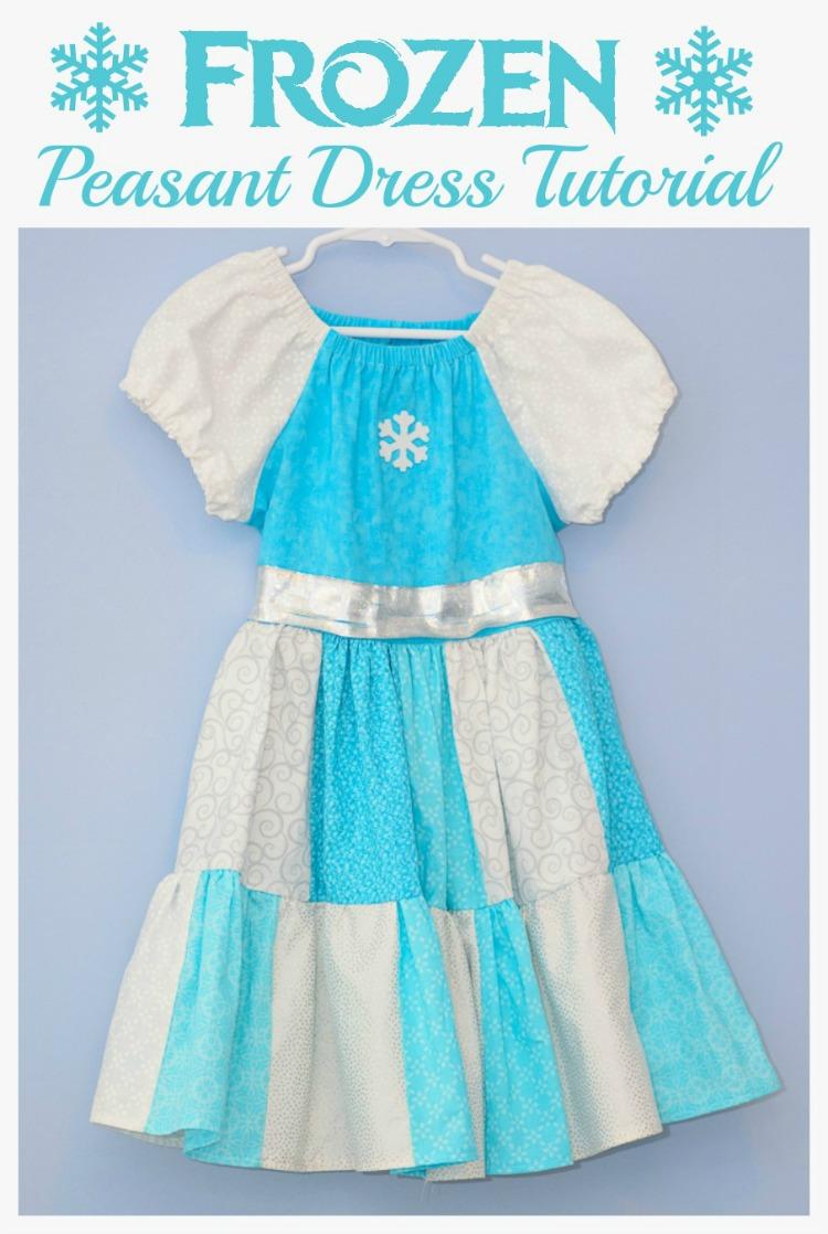 Frozen-Peasant-Dress-Tutorial