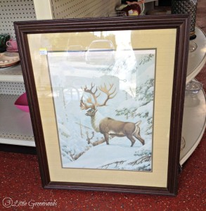 Amazing find at Thrifty Thursday: Home Office Art by 3 Little Greenwoods #ThriftyDecor #DIYArt #HomeOffice