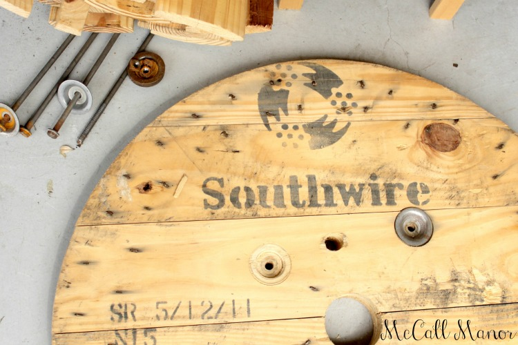 How To Make A Clock From An Electrical Spool