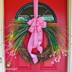 Easy Spring Grass Wreath