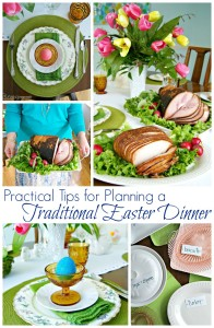 Practical Tips for Planning a Traditional Easter Dinner by 3 Little Greenwoods #HoneyBakedEaster #EasterDinner #PartyPlanning