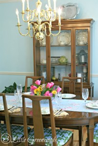 Dining Room Makeover by 3 Little Greenwoods