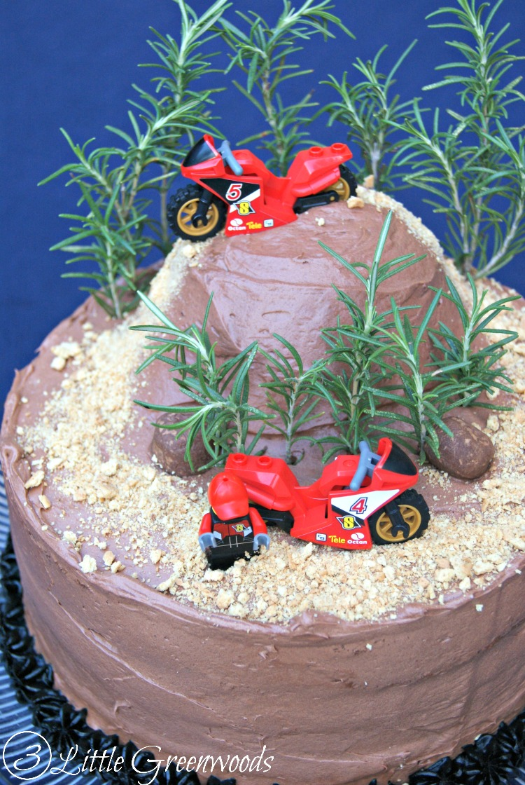 Groovy Diy Dirt Bike Birthday Cake Funny Birthday Cards Online Overcheapnameinfo