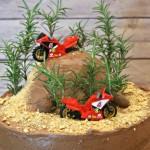 DIY Dirt Bike Birthday Cake