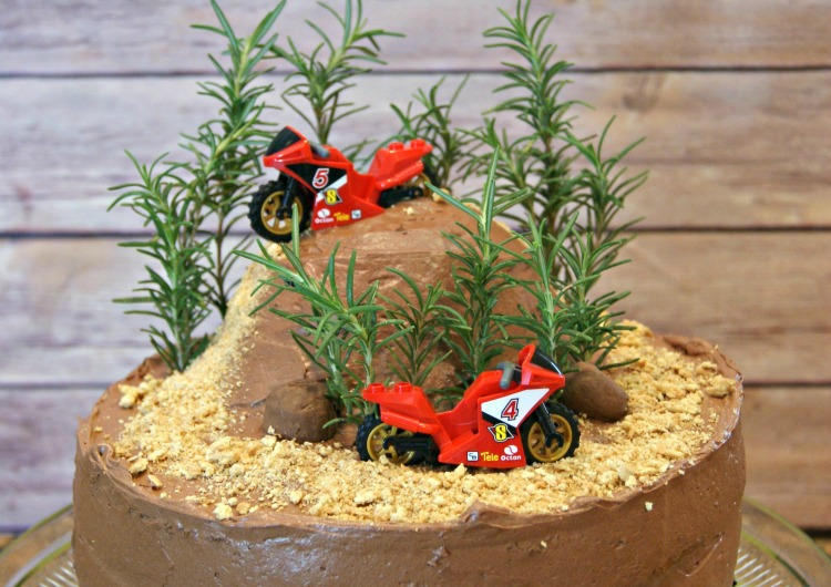 Incredible Diy Dirt Bike Birthday Cake Funny Birthday Cards Online Overcheapnameinfo