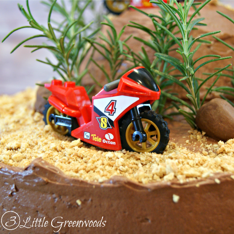 Astonishing Diy Dirt Bike Birthday Cake Funny Birthday Cards Online Overcheapnameinfo