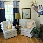 Home Office Decorating Ideas on a Budget by 3 Little Greenwoods