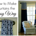 How to Make Curtains ~ The Easy Way!