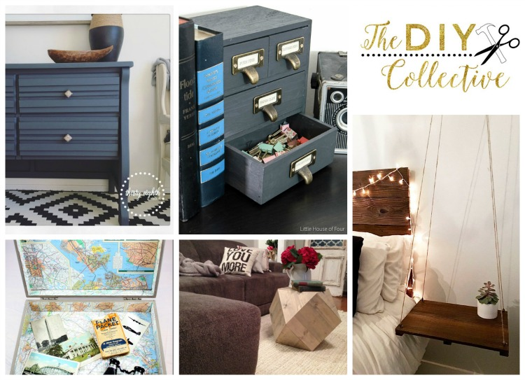 Easy DIY Wood Projects from The DIY Collective