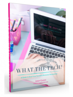 What the Tech? ebook by Lesley Clavijo