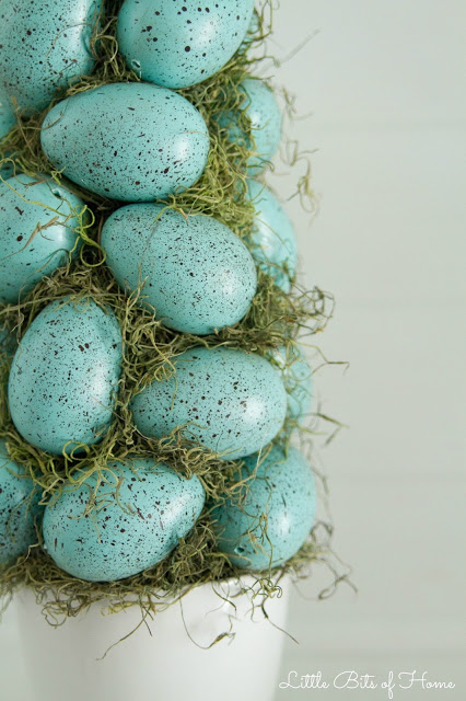 Easter Crafts: Easter Egg Topiary