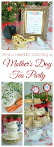 Looking for Mother's Day Ideas? Host a Mother's Day Tea Party with these easy party planning tips! Afternoon tea party menu and FREE printables for tea party invitations! // 3 Little Greenwoods